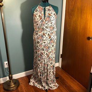 American Eagle Boho Floral Maxi Dress
